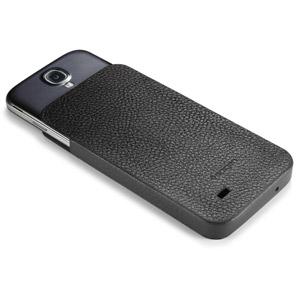 Spigen SGP Crumena Leather View Pouch for Samsung Galaxy S4 - Black