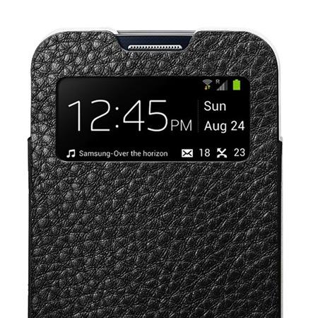 Spigen SGP Crumena Leather Pouch for Samsung Galaxy S4 - White