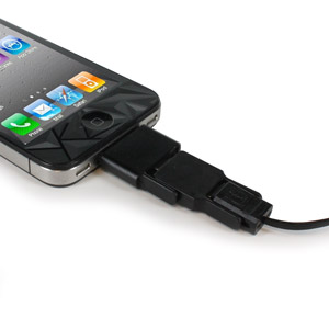 The OneCable Sync and Charge Apple and Micro USB Cable