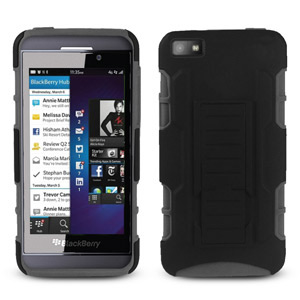 Rugged Stand Case for Nexus 4 - Black