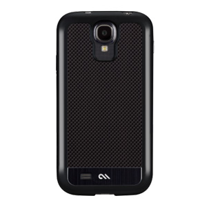 Case-Mate Crafted Carbon Fibre Samsung Galaxy S4 Case - Black