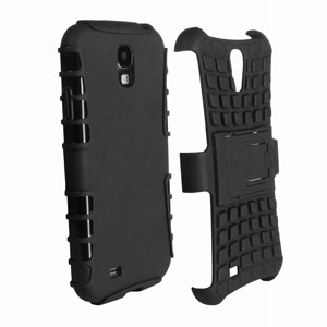 ArmourDillo Hybrid Protective Case for Samsung Galaxy S4 - Black