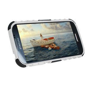 ArmourDillo Hybrid Protective Case for Samsung Galaxy  S4 - White