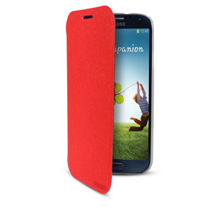 Sonivo Slim Wallet Case with Sleep/Wake Sensor - Red