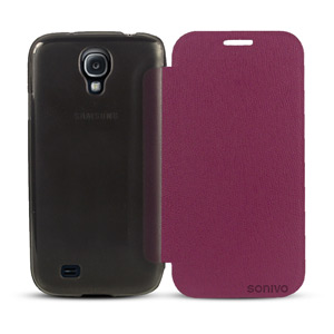 Sonivo Slim Wallet Case with Sleep/Wake Sensor - Purple