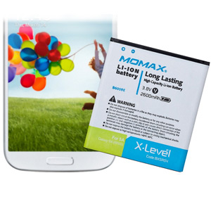 Momax X-Level 2600mAh Battery for Samsung Galaxy S4