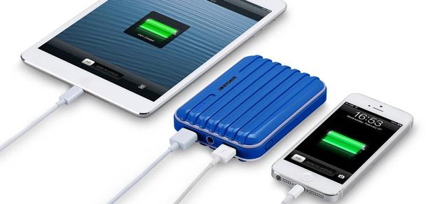 cargador portatil momax ipower go bateria externa de 8800mah azul. Black Bedroom Furniture Sets. Home Design Ideas