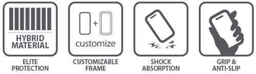 Spigen Neo Hybrid Google Nexus 6 Case - Gun Metal