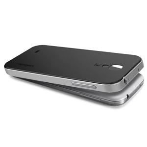 Spigen SGP Neo Hybrid Case for Samsung Galaxy S4 - Silver
