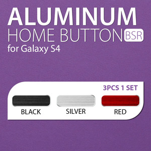 Spigen SGP Aluminum Home Button - 3 Pack