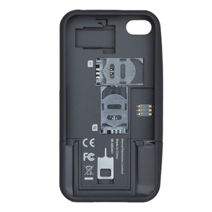 thumbsUp! Dual Sim Case for iPhone 4/4S