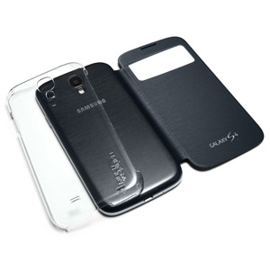 Spigen SGP Flip Mate Case for Samsung Galaxy S4 -Clear