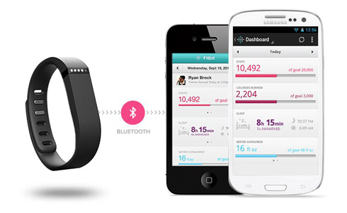 Fitbit Flex Sans fil Bracelet fitness ? Noire