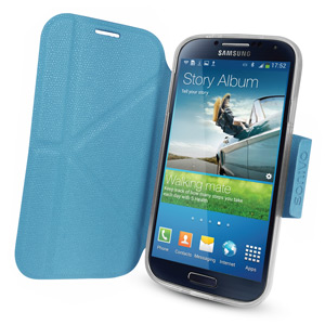 Sonivo Origami Case and Stand for the Samsung Galaxy S4 - Blue