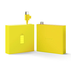 Nokia Universal Portable Micro USB Charger CR-18 - Yellow