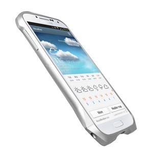 Draco Design Aluminium Airborne Bumper for Samsung Galaxy S4 - Silver