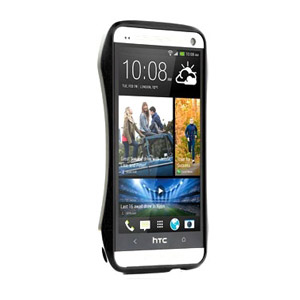 Draco Design Aluminium Bumper for HTC One 2013 - Metro Black