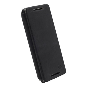 Krusell Kiruna FlipCover Leather Case for HTC One 2013 - Black