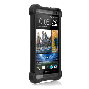 Ballistic Shell Gel Case for HTC One - Black