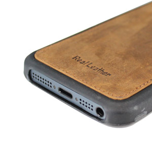 Urbano Genuine Leather Slim Case for iPhone 5 - Vintage