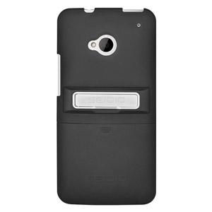 Seidio Surface Case with Kickstand for HTC One - Black