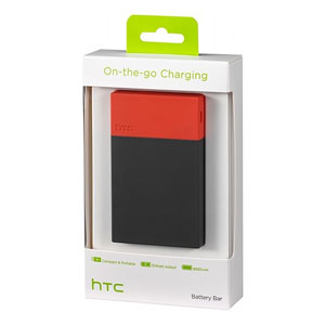 HTC 9000mAh Micro USB External Battery Bar