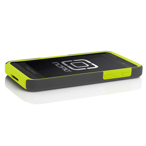 Incipio DualPro Case for Blackberry Z10 - grey/neon yellow