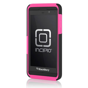 Incipio DualPro Case for Blackberry Z10 - black/neon pink