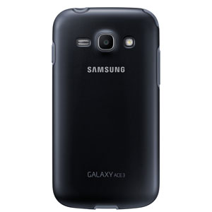 Official Samsung Galaxy Ace 3 Protective Cover Plus - Black