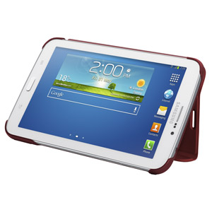 Official Samsung Galaxy Tab 3 7.0 Book Cover - Red