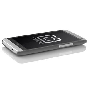 Incipio Feather Case for HTC One - Iridescent Grey