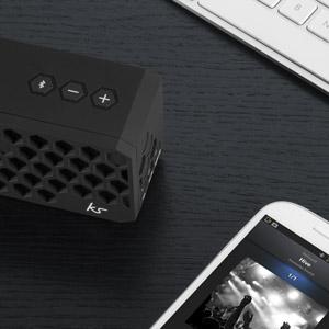 Enceinte Portable Bluetooth Kitsound Hive Stereo ? Noire