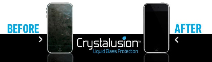 Crystalusion Anti-Bacteria Liquid Glass Screen Protection Kit