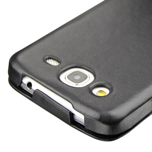Noreve Tradition Leather Case for Samsung Galaxy Mega 5.8 - Black