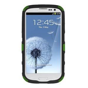 Seidio ACTIVE Case for Samsung Galaxy S3 with Kickstand - Green