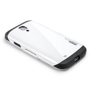 Slim Armor View Case for Galaxy S4 - infinity white