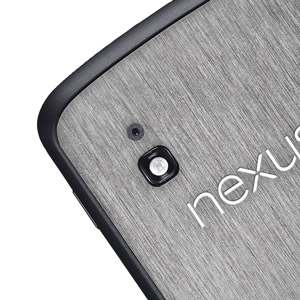 dbrand Textured Back Cover Skin for Google Nexus 4 - Titanium