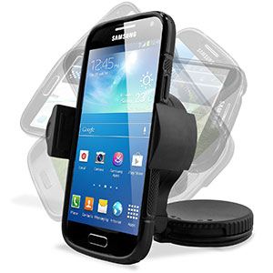 The Ultimate Samsung Galaxy S4 Mini Accessory Pack - Black