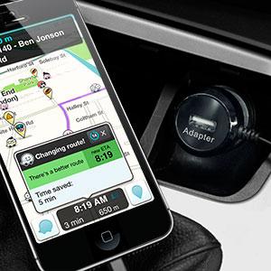 Chargeur voiture Lightning Ultra Rapide Olixar avec port USB – 4.8A