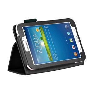 Adarga Folio Stand Samsung Galaxy Tab 3 7.0 Case - Black
