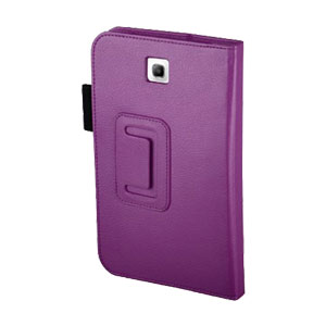 Adarga Folio Stand Case Samsung Galaxy Tab 3 7.0 - Purple