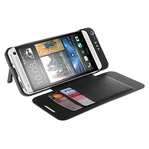 Power Jacket for HTC One with Cover- 3800mAh