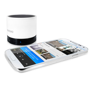 SoundWave SW100 Bluetooth Speaker Phone - White