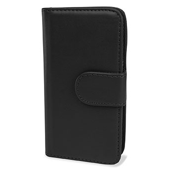 Samsung Galaxy S4 Mini Wallet Case - Black