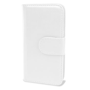 Samsung Galaxy S4 Mini Wallet Case - White