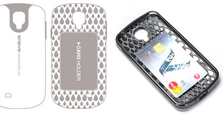 Verus Oneye Protective Case for Samsung Galaxy S4 - White