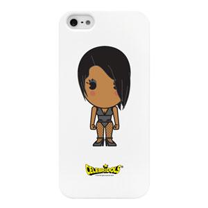 Celebridols for Apple IPhone5 On White - Rihanna Case
