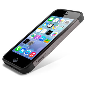 Slim Armor Case for iPhone 5 - Gun Metal