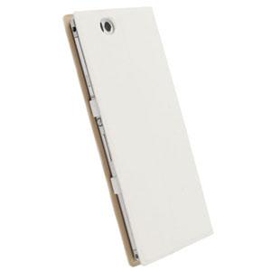brand new d4616 6f514 Krusell Malmo Flip Cover for Xperia Z Ultra - White Plain