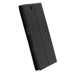 release date 0c60a b8cf8 Krusell Malmo Flip Cover for Xperia Z Ultra - Black Plain